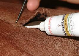 Leather Sofa Repair Tear by Leather Glue To Repair Tears U0026 Rips On Leather Colourlock