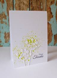 this simple yet special card by paula at just for one day