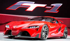 toyota international surprise drop dead toyota ft 1 supra joins greatest car show