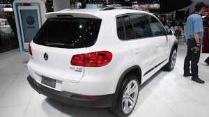 volkswagen suv 2014 volkswagen tiguan and touareg receive r line treatment for naias