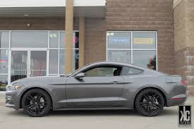 Mustang 2015 Black Kc Trends Showcase Koko Kuture Massa 5 Black Wheels Mounted