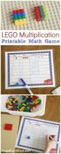 lego multiplication mats printable math activity multiplication