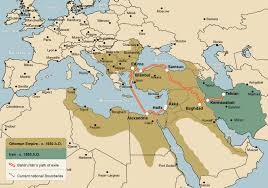 The Ottoman Turks Where Was The Ottoman Empire Ottoman Empire On World Map Maps