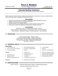 Cable Installer Resume Network Technician Resume Network Technician Resume Example