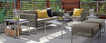 Where To Find Cheap Patio Furniture by Outdoor Patio Furniture U0026 Decor Ideas Crate And Barrel