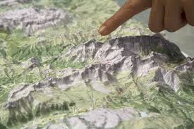Dolomites Italy Map by Relief Dolomites Italy As 3d Map