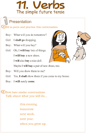 good grammar grade 3 grammar lesson 11 verbs u2013 the simple future