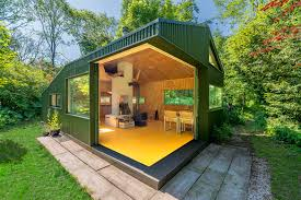micro cottage camouflaged thoreau cabin in the woods of utrecht has no running