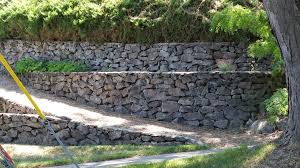 Rock Garden Wall Retaining Walls Dundee C L Dundee Concrete Landscaping
