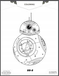 free star wars force awakens coloring pages activity