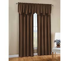 amazon com chf u0026 you brushed peachskin tailored window curtain