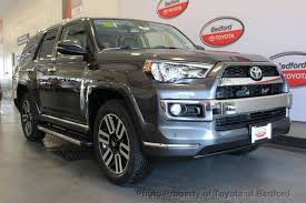 toyota 4runner limited 4wd 2017 toyota 4runner limited 4wd at toyota of bedford serving