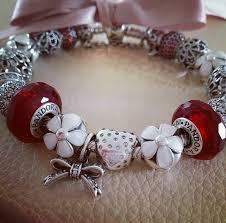 red charm bracelet images 240 best simply pandora images pandora bracelets jpg