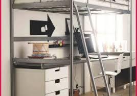 bureau sous lit mezzanine lit bureau mezzanine 367624 idée rangement bureau impressionnant