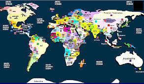 world map with country names and capital cities world map and their capitals