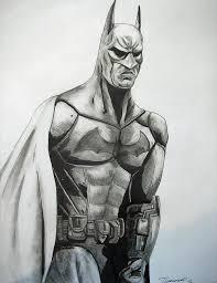 arkham batman drawing cust0m deviantart