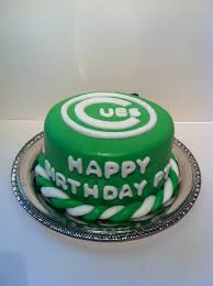 happy green color green cubs cake cakes by cathy chicago