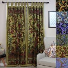 Black Gold Curtains Black Tab Top Curtains Drapes For Less Overstock