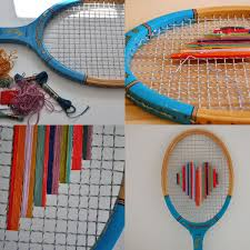 Badminton Trellis Creative And Functional Reuses Of Tennis Rackets