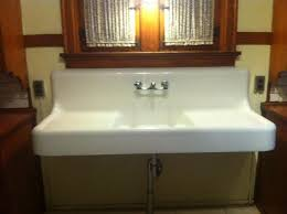 Antique Kitchen Sinks For Sale by 1928 Vintage American Standard Single Basin Double Drainboard
