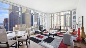 6 Stylish Manhattan One Bedrooms - the centria 18 west 48th street nyc condo apartments cityrealty