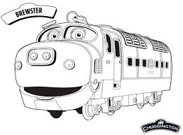 brewster chuggington coloring pages cartoon coloring pages of