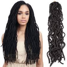 Curly Hair Braid Extensions by 2016 Sale 22 U0027 U0027 Soft Dread Locks Extensions Fast Hair Havana