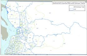 Census Tract Maps Gis Shapefiles Puget Sound Regional Council