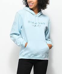 diamond supply hoodies u0026 sweatshirts zumiez