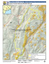 Map New York Connecticut by Refuge Planning Northeast Region U S Fish And Wildlife Service