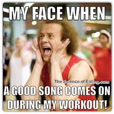 Exercising Memes - the significance of having amusing whilst exercising