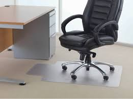 Desk Chair Accessories Amazing Grey Polycarbonate Mat For Office Chair Black Leather