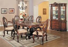 Formal Dining Room Furniture Formal Dining Room Chairs Cherry Traditional Brown Cherry Finish