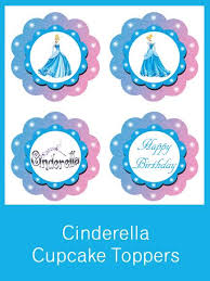 cinderella cupcake toppers 8480689 orig jpg 434 578 projects to try