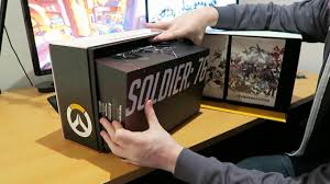 collector s overwatch collectors edition unboxing youtube