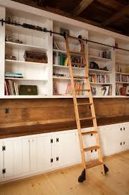 Bookshelves In Ikea by Best 25 Bookcase With Ladder Ideas On Pinterest Library Ladder