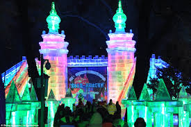 harbin snow and ice festival 2017 harbin international snow and ice festival opens in china daily