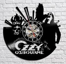 ozzy osbourne vinyl record clock u2013 trendszen