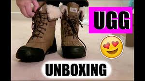 s adirondack ugg boots otter ugg australia adirondack ii otter from zappos unboxing ugg