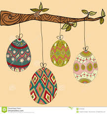 easter eggs to hang on trees happy easter 2017