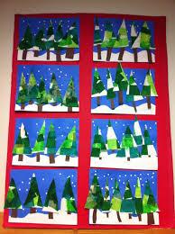 kunst in der grundschule winterbild u2026 pinteres u2026