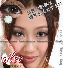 ailsa cherry grey colored contacts pair cf21 gy 9 99