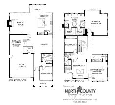 standard pacific floor plans westcott at la costa oaks floor plan 4 north county new homes