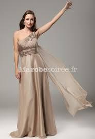 robes de cã rã monie pour mariage robe de bal annabelle bretelle asymétrique couleur avec volants