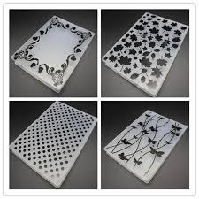 Embossing Templates Card Making - plastic embossing folder diy scrapbooking photo album card making