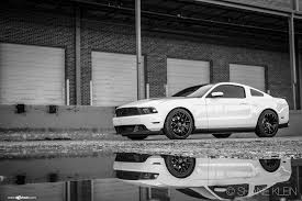 White Mustang With Black Wheels Avant Garde Wheels Photos Of The Year 2013 In Review