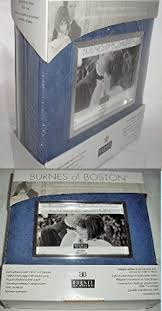 burnes of boston photo albums burnes of boston blue w silver accents two photo album bundle