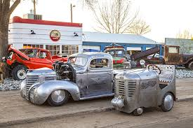 Vintage Ford Truck Salvage Yards - this airplane engine 1939 plymouth pickup is radically radial