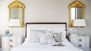Laminate Floor White Mid Century Bathroom Full Size Wooden Platform Bed Decor Beige