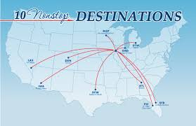 Psa Airlines Route Map by Aiosearch United Airlines Destinations City Codes